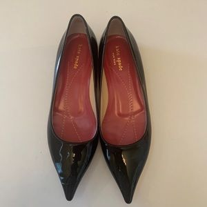 Kate Spade Patent Leather Pointed Toe Flats